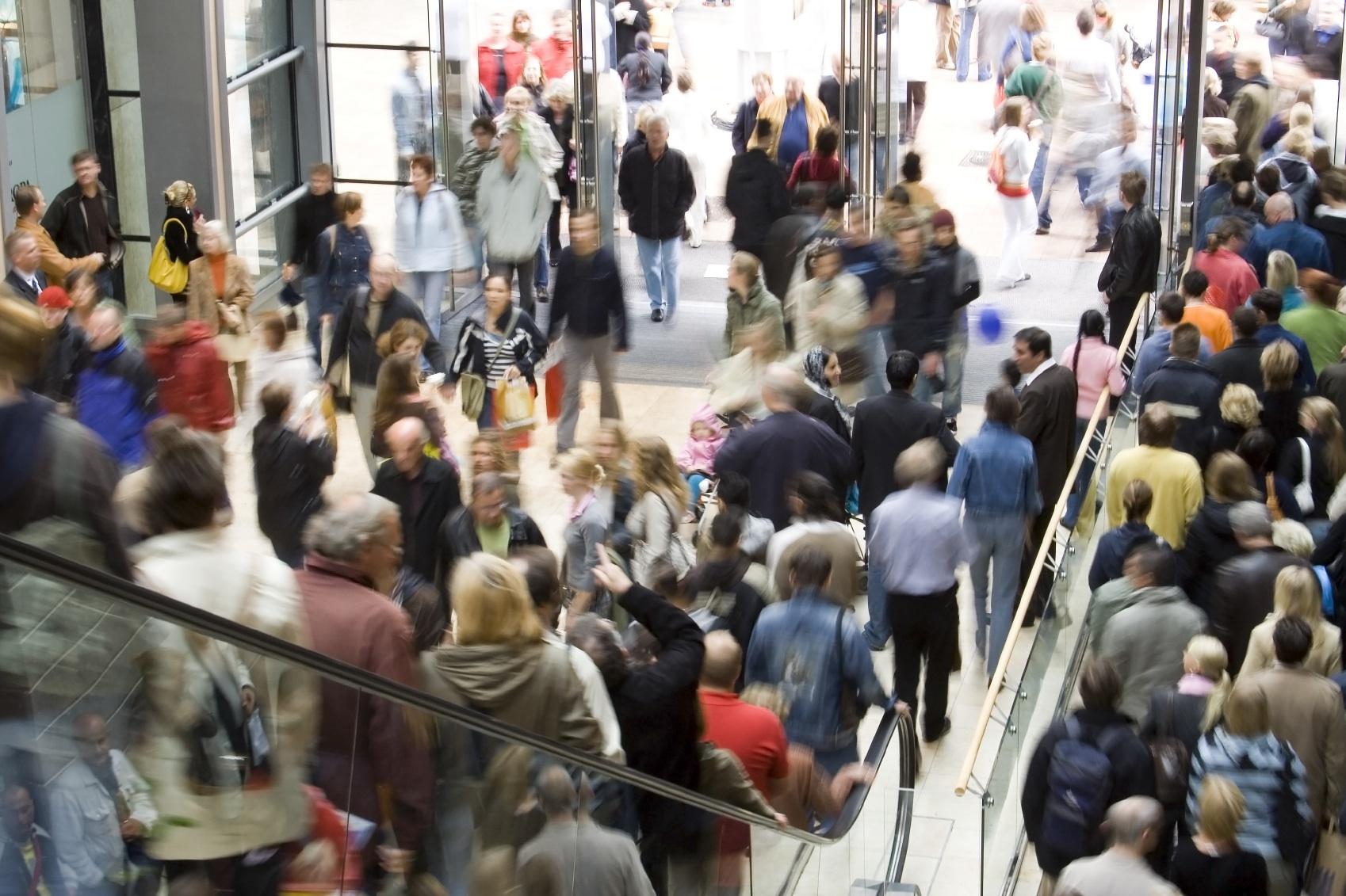 Crowd escalator