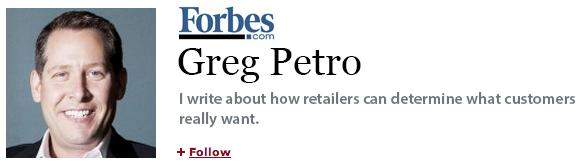 Greg Petro on Forbes.com