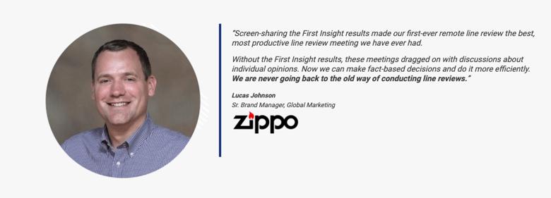 Zippo_Lucas Johnson Quote