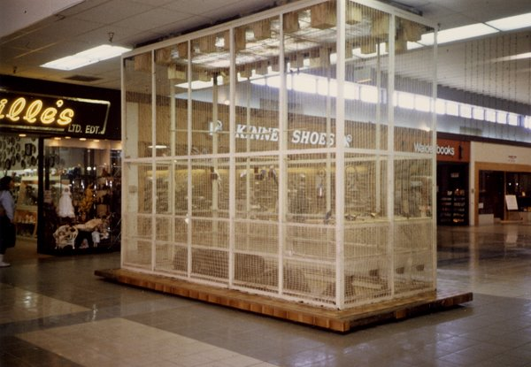 birdcage at Northway Mall