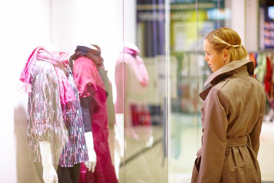 Woman-Window-Shopping