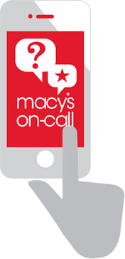 macys on call icon