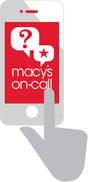 macys on call icon