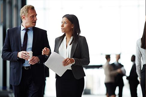 Banking-Employees-Talking