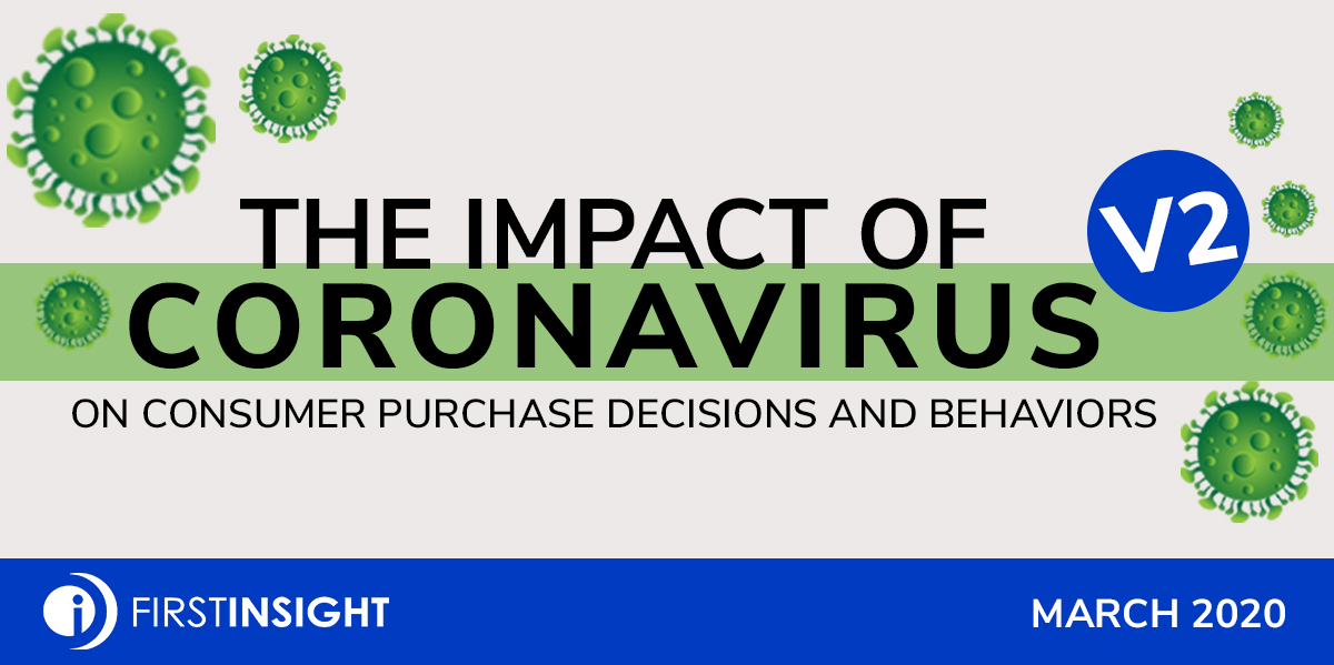 First Insight Finds Coronavirus Impacting Shopping Decisions, Spending and Product Availability