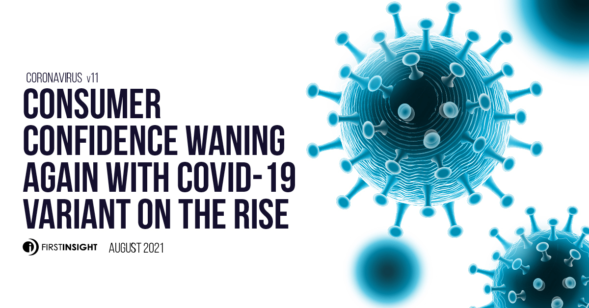 CONSUMER CONFIDENCE WANING AGAIN WITH COVID-19 VARIANT ON THE RISE