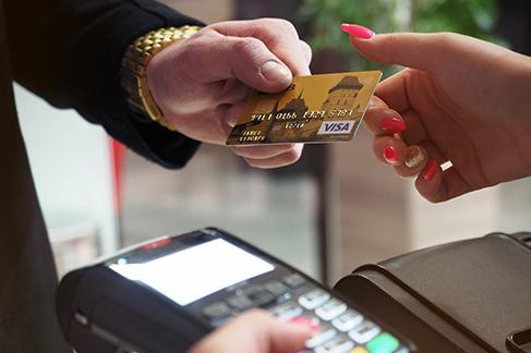 Man-Using-Banking-Card