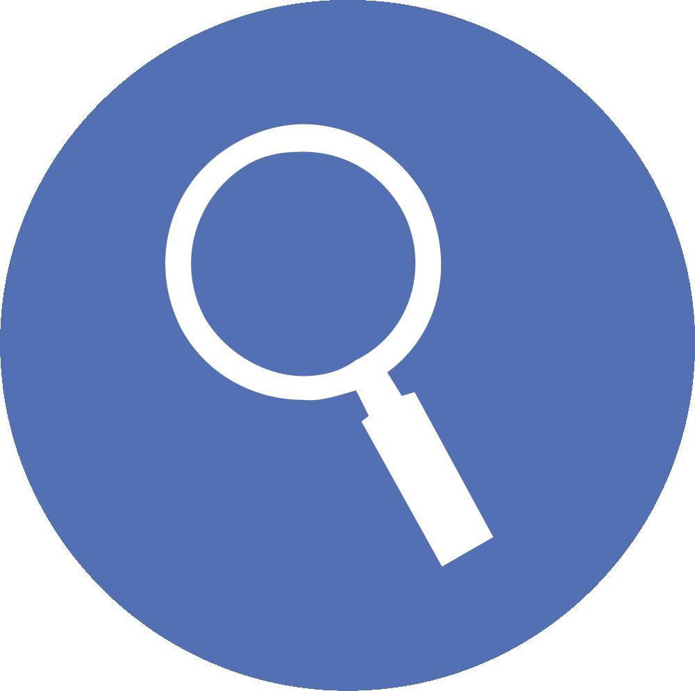 Identify trends icon